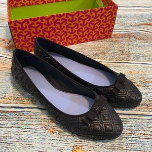 😻HP NEW Tory Burch Marion Quilted Ballet Flat 9.5